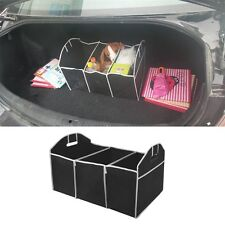 Foldable Car Boot Cargo Storage Box Cargo Truck Organizer Home Holder Case Black