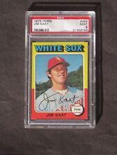 1975 Jim Kaat # 243 White Sox PSA 9 MINT