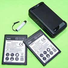 2x 3870mAh Extended Slim Battery Charger For LG V20 VS995 H910 H990N BL-44E1F A+