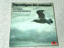 l'apocalypse des animaux 33t vangelis papathanassiou 1973 TBE