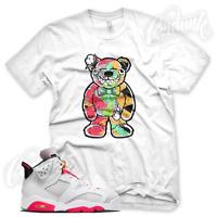 """New """"TATTERED TEDDY"""" Sneaker T Shirt for Jordan 6 """"HARE"""" VI 2020"""