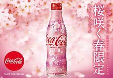 """Coca-Cola """"LIMITED - 2020 SAKURA"""" Original Taste Japan Edition 250ml; US Seller"""