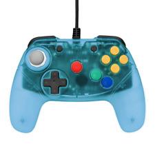 Retro Fighters Brawler64 Gamepad for Nintendo 64 N64 Blue NEW