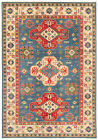"""Vintage Hand-Knotted Carpet 6'9"""" x 9'9"""" Traditional Oriental Wool Area Rug"""