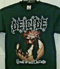 Deicide Scars Of The Crucifix Vintage Mens Sm Band Black Graphic T Shirt S