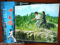 The Inheritor of Kung Fu {Ling Chang} Hong Kong Martial Arts Lobby Card 70s