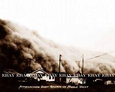 1935 APRIL 14TH MID MIDDLE WEST MIDWEST DUST BOWL DUST STORM PHOTO