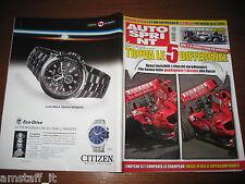 AUTOSPRINT 2008/9=DTM RALF SCHUMACHER=DANNY ONGAIS=TEST AUDI A3 CABRIO=A.PROST