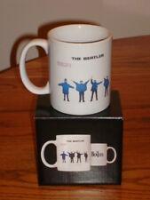 THE BEATLES HELP COFFEE MUG New In Box!