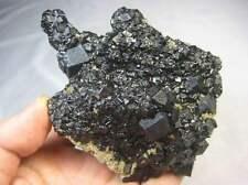 95mm 460g Black Andradite Garnet 211226 HuangGang Inner Mongolia China
