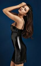 NEW NEU /  INTIMISSIMI black Sweet Latex Slip - Intimissimi / 85B UK 38B
