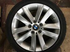 "GENUINE BMW 1 SERIES 17"" STYLE 141 ALLOY WHEEL & TYRE E81 E82 E87 E88 6775621"
