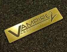 Commodore Amiga 600 VAMPIRE 2 Label / Logo / Sticker / Badge 49 x 13 mm [410d]
