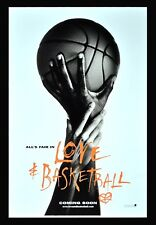 LOVE AND BASKETBALL ✯ CineMasterpieces 1SH ORIGINAL MOVIE POSTER DS 2000