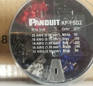 Panduit KP-FSD2 Crimp Terminals  NEW  SAVE 30% !!!