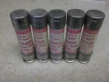 Fuse Gould TR40R Tri-Onic 40A, Lot of 5 Time Delay *FREE SHIPPING*
