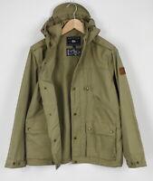 PENFIELD HPC1000 WAX CLOTH Men's SMALL Waterproof Hiking Jacket 27965-JS