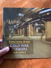 Kalter Krieg Bunker von Nick catford (Hardcover, 2010) - große seltene HB Buch VGC