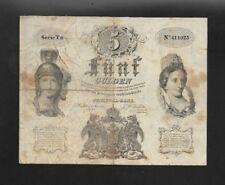 5 Gulden 1.1.1847  Nr. 411923  Eiamaya