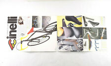"""Cinelli Catalog Poster Unicanitor Lugs 1A 1R Laser 1970's- 80's 12x32"""" Poster"""