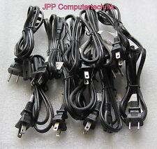 LOT 10x 2 pin power lead AC Power Cord Cable Linetek 125v LP-5 LS-7H E70782