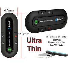 Wireless BluetoothV4.1 Handsfree Multipoint Speakerphone Speaker Car Kit Visor
