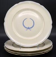 Rosenthal Empire * 4 DINNER PLATES * Blue Wreath, Excellent
