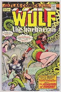 Wulf The Barbarian #2, Fine - Very Fine Condition*