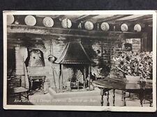 RP Postcard Stratford - Shakespeare : Anne Hathaway's Cottage: Interior #423