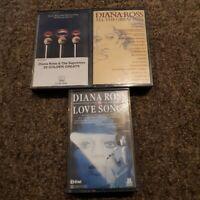 Diana Ross Cassette Job Lot Bundle Tapes