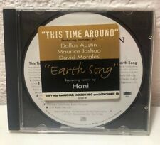 MICHAEL JACKSON EARTH SONG & THIS TIME AROUND (PROMO) ESK 7521 CD Remix Edition