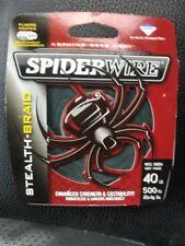 Spiderwire Stealth Braid 40 Lb 500 Yd Spool Moss Green Fishing Line