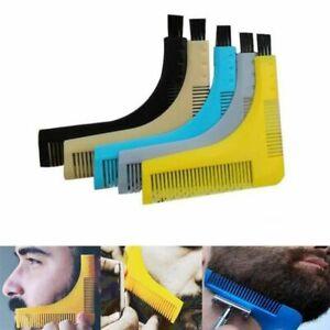 Bro Lines Shaping Hot Men Beard Beard Comb Perfect Tool Symmetry Template Brush