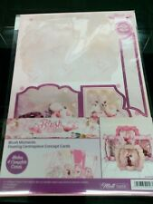 HUNKYDORY BLUSH MOMENTS FLOATING CENTREPIECE CONCEPT CARD KIT NEW 2020
