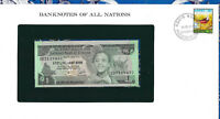 Banknotes of All Nations Ethiopia 1976 1 Birr P-30b UNC Birthday note CD 2119432