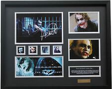 New The Joker Heath Ledger Signed Batman Limited Edition Memorabilia