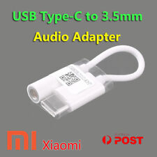 Original Xiaomi USB-C Male to 3.5mm Jack Audio Female Microphone Adapter Cable