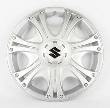 """BRAND NEW Genuine Suzuki Wheel Trims 15"""" Silver SET OF 4 - Swift Splash G30"""