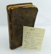 Original altes Buch aus dem Jahre 1751 IHS Regeln des Instituts Maria e1022