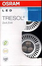 10x 2er Pack  OSRAM LED Einbauspot Tresol 4,5W Silber - Ersatz für 20W Halogen