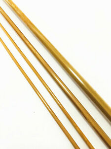 """Handcrafted Bamboo Fly Rod Blank 7'0"""" 4 wt /3-piece 2-tip /Rod Building & Repair"""