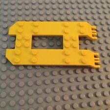 Lego Vehicle Yellow Trailer 6 x 12 x 1 1/3 Base
