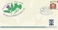 Rugby Conmemorativa Cover - 4.3.89 - Escocia / Irlanda 4 Mar 1989 100º Match