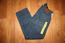 NWT Mens LUCKY 221 Original Straight Halite Dark Wash Denim Jeans 36 W x 34 L