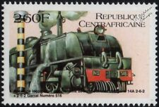BEYER-GARRATT (Rhodesia Zimbabwe) Class 14A #516 2-6-2+2-6-2 Steam Train Stamp
