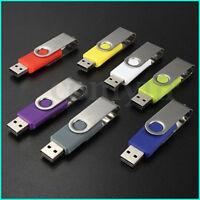 32GB 64GB 32MB USB 2.0 Swivel USB Stick Flash Pen Drive Memory Stick Disk LOT