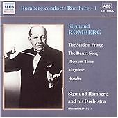 Sigmund Romberg - and His Orchestra (CD) . FREE UK P+P ........................