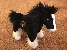 Pixar Brave Angus Merida's Black Horse Plush Disney Store Exclusive Discontinued
