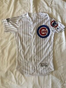 Authentic Flex Base Majestic Chicago Cubs Home Jersey Anthony Rizzo - 44
