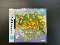 Animal Crossing: Wild World Nintendo DS Brand New Sealed in Box USA Shipping